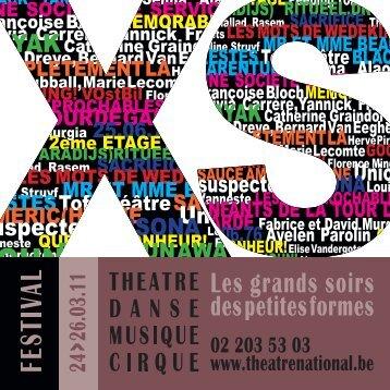 telecharger la brochure ici - Théâtre National