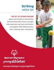 Striking (PDF) - Special Olympics