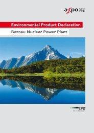Environmental Product Declaration Beznau Nuclear Power Plant
