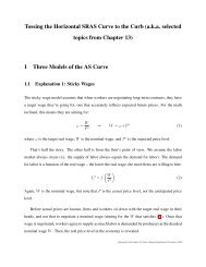 Introduction to the Upward-Sloping Aggregate Supply Curve