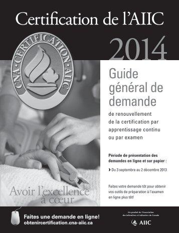 Certification de l'AIIC - NurseONE