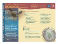 National Library of Medicine's American Indian Health Web Portal