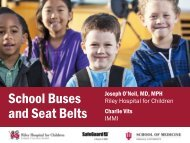School Buses and Seat Belts