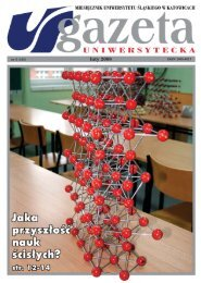 luty 2008 - Gazeta Uniwersytecka