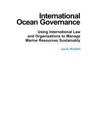 International Oceans Governance - Centre for Mediterranean ...