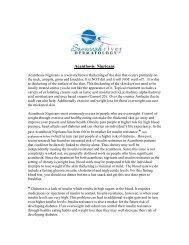 Acanthosis Nigricans.pdf - Savannah River Dermatology, LLC