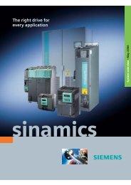 SINAMICS System overview 2006 en - GRUP DAP