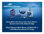Going Where No Sensor Has Gone Before - Remote Magazine