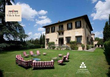 Villa Le Rose brochure - Lungarno Collection