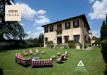 Villa Le Rose brochure - Lungarno Collection