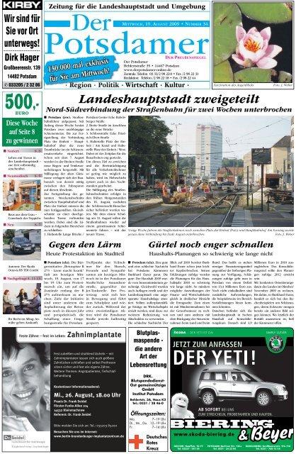 Prostituierte Potsdam (BB, Landeshauptstadt)