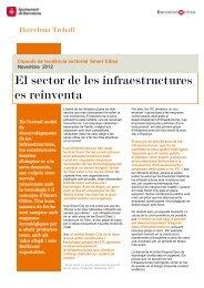 El sector de les infraestructures es reinventa - Barcelona Treball