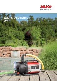 ALKO Pumper - Katalog 2013 - Byghjemme.dk