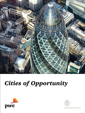 Cities of Opportunity 2011 - PwC