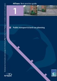 Public transport & land use planning HiTrans Best practice ... - KpVV