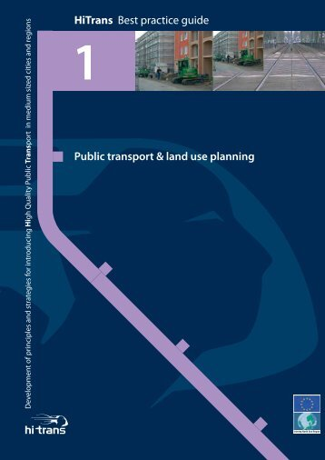 Public transport & land use planning HiTrans Best practice ... - KpVV