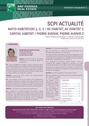 Bulletin trimestriel - AV Habitat - 4ème trimestre 2010 - BNP Paribas ...
