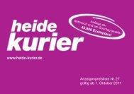Mediadaten herunterladen - Heide-Kurier