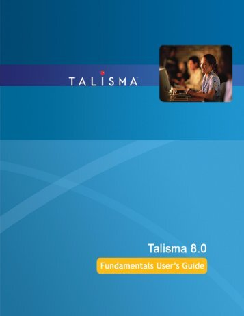 Talisma Fundamentals User's Guide.book