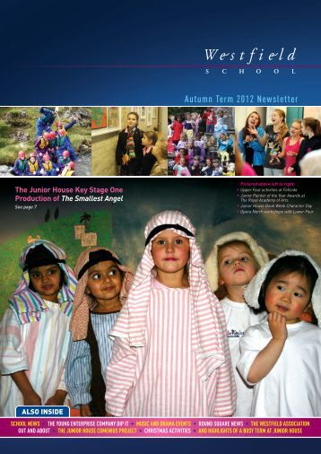 Autumn Term 2012 Newsletter - Westfield School