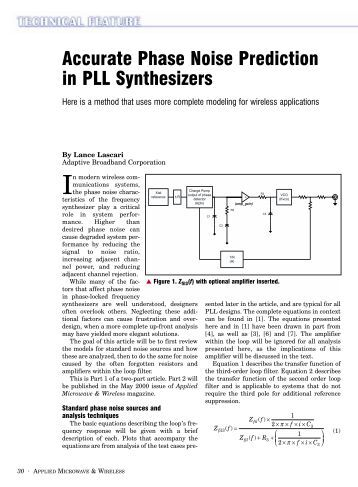 modelling of noise in pll using Vco: low-swing oscillator with frequency proportional to control voltage • level  shifter  continuous-time model says that pll should reject more 99mhz noise.