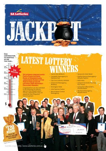 LOTT6709 Jackpot Issue 3 - SA Lotteries