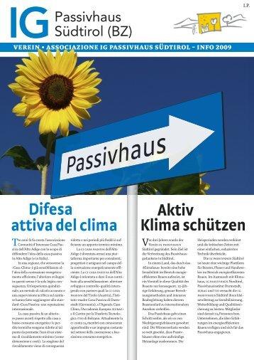 DE+IT - IG Passivhaus Südtirol