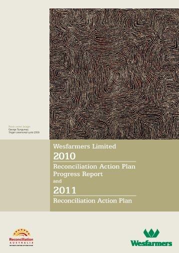 2011 Reconciliation Action Plan - Reconciliation Australia