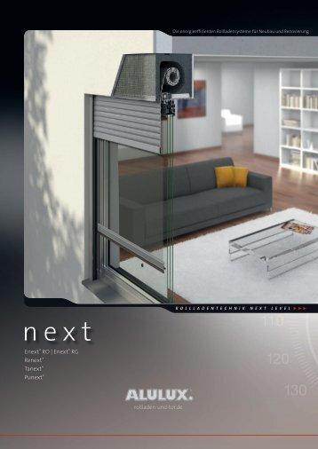 Next Rollladen Die energieeffizienten Rollladensysteme für Neubau ...