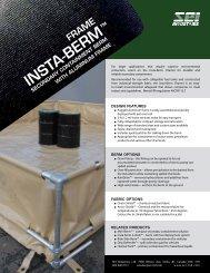 Insta-Berm (Frame) - SEI Industries Ltd.