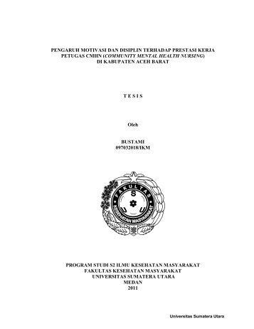 BAB 4 - USU Institutional Repository - Universitas Sumatera Utara