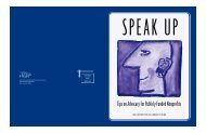 Speak Up - Annie E. Casey Foundation