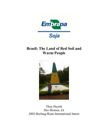 Improving Soybean Drought Tolerance (2005) - The World Food Prize