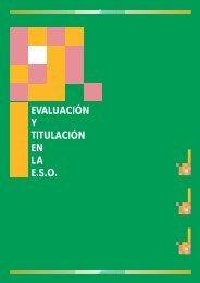 EVALUACIÓN Y TITULACIÓN EN LA E.S.O. - Navarra - Gobierno de ...