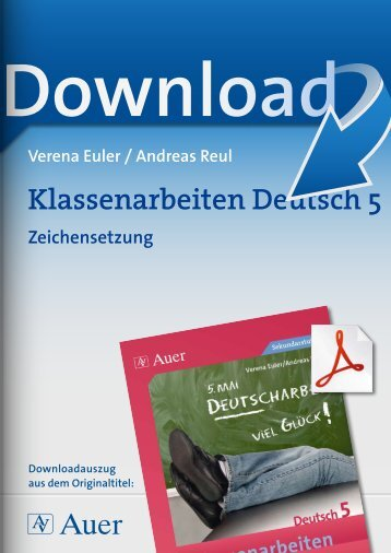 Klassenarbeiten Deutsch 5