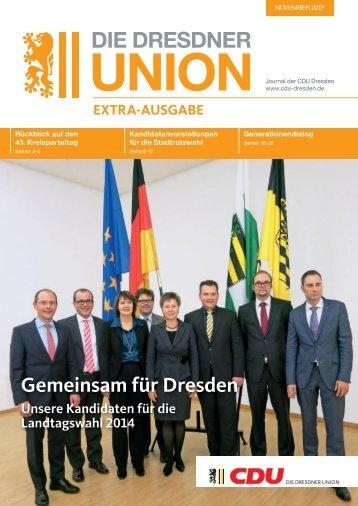 Extra Ausgabe - CDU Dresden