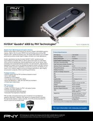 NVIDIA® Quadro® 6000 by PNY Technologies® - Wiredzone.com