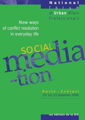 Social mediation - Délégation interministérielle à la ville