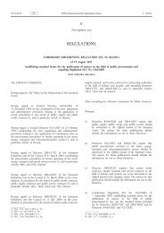 Commission Implementing Regulation (EU) No 842/2011 ... - EUR-Lex