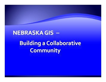 Aerial Imagery - the Nebraska GIS/LIS Association