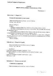 Barem drept civil si proc. civil (13 nov. 2007).pdf - Institutul Naţional ...