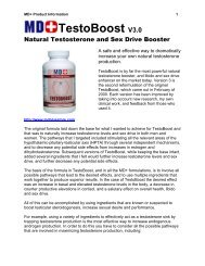 the only true natural testosterone and sex drive booster - MD+ Store