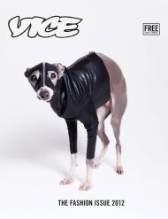 THE FASHION ISSUE 2012 - Vice