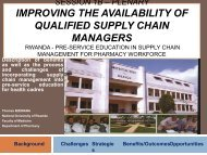 Pre-service Education in Supply Chain Management for Pharmacy ...