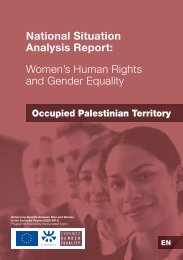 National Situation Analysis Report - FAO Regional Office for the ...