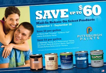 Mail-In Rebate On Select Products