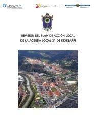 Plan de Acción Local 2012-2020 - Ayuntamiento de Etxebarri