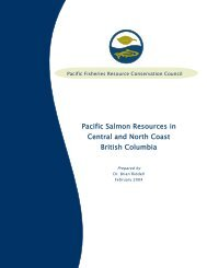 Pacific Salmon Resources in Central and North Coast British ...