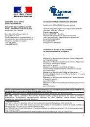 Circulaire du 2 mars 2007 - Réseaux gérontologiques du sud Lorraine