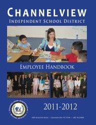 Employee Handbook - Channelview Independent School District